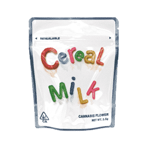 Ready Made Cereal Milk Strain Cali Pack Mylar Bags/Pouches
