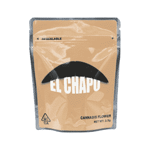 Ready Made El Chapo Strain Cali Pack Mylar Bags/Pouches