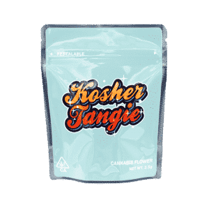 Ready Made Kosher Tangie Strain Cali Pack Mylar Bags/Pouches