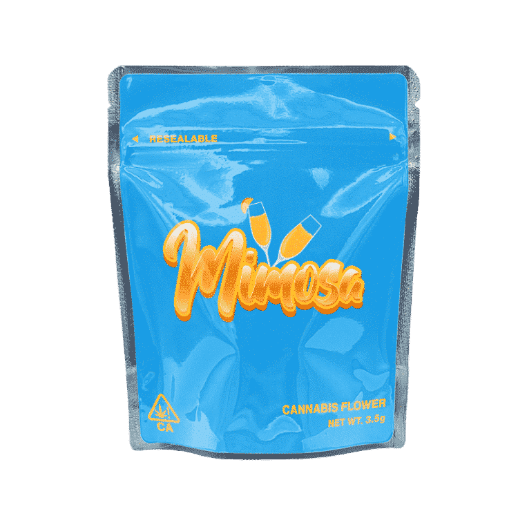 Ready Made Mimosa Strain Cali Pack Mylar Bags/Pouches