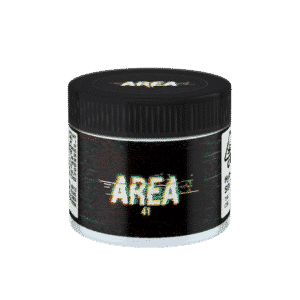 Area 41 Glass Jars. 60ml suitable for 3.5g or 1/8 oz.