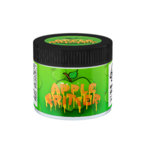 Apple Fritter Glass Jars. 60ml suitable for 3.5g or 1/8 oz.