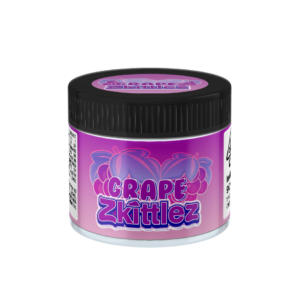 Grape Zkittlez Glass Jars. 60ml suitable for 3.5g or 1/8 oz.