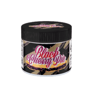 Black Cherry Pie Glass Jars. 60ml suitable for 3.5g or 1/8 oz.