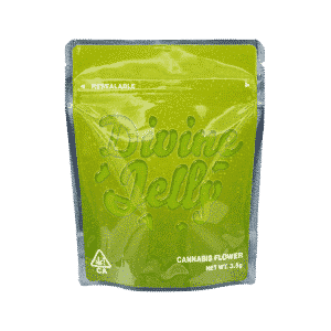 Ready Made Divine Jelly Strain Cali Pack Mylar Bags/Pouches