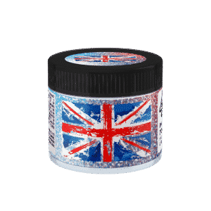 UK Glass Jars. 60ml suitable for 3.5g or 1/8 oz.